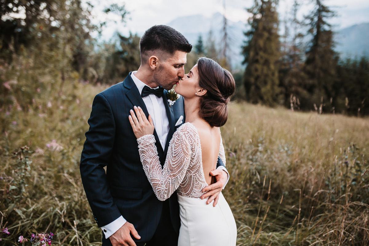 Sylwia i Piotr - ślub w Kościelisku i sesja w górach 98