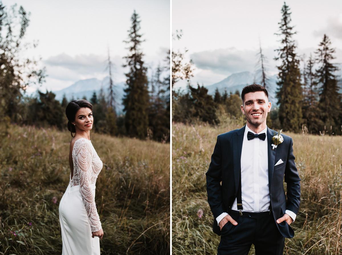 Sylwia i Piotr - ślub w Kościelisku i sesja w górach 101
