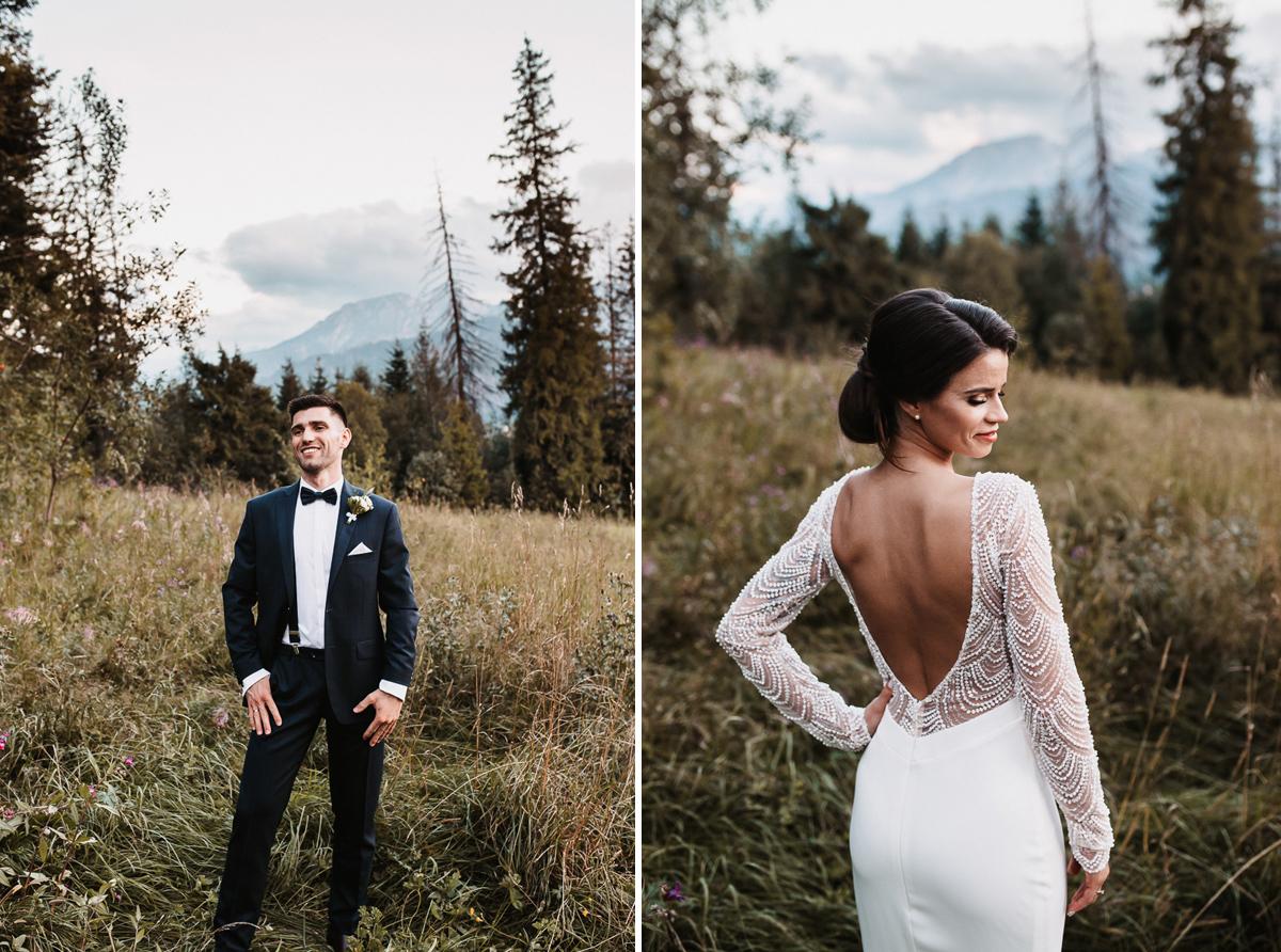 Sylwia i Piotr - ślub w Kościelisku i sesja w górach 102