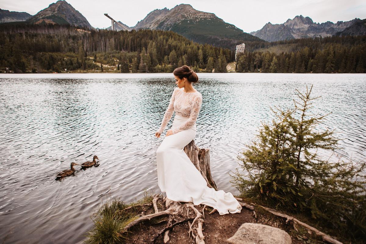 Sylwia i Piotr - ślub w Kościelisku i sesja w górach 175