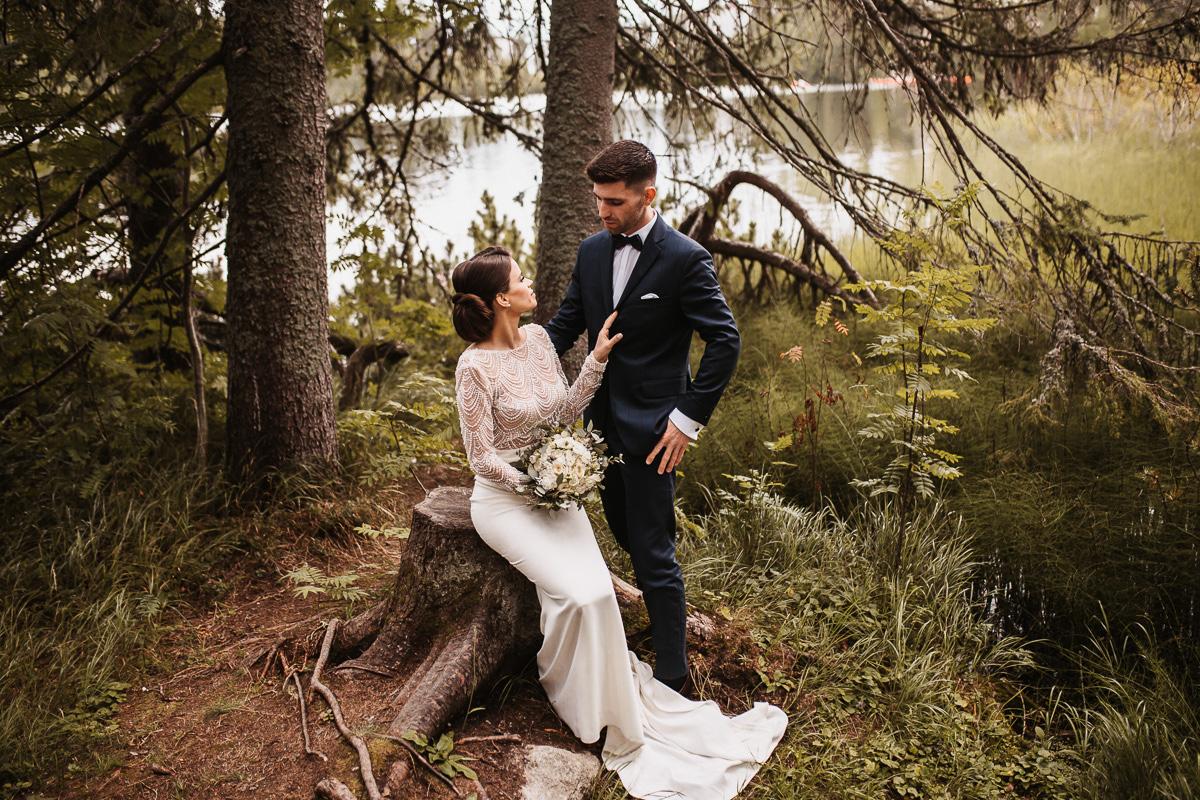 Sylwia i Piotr - ślub w Kościelisku i sesja w górach 177