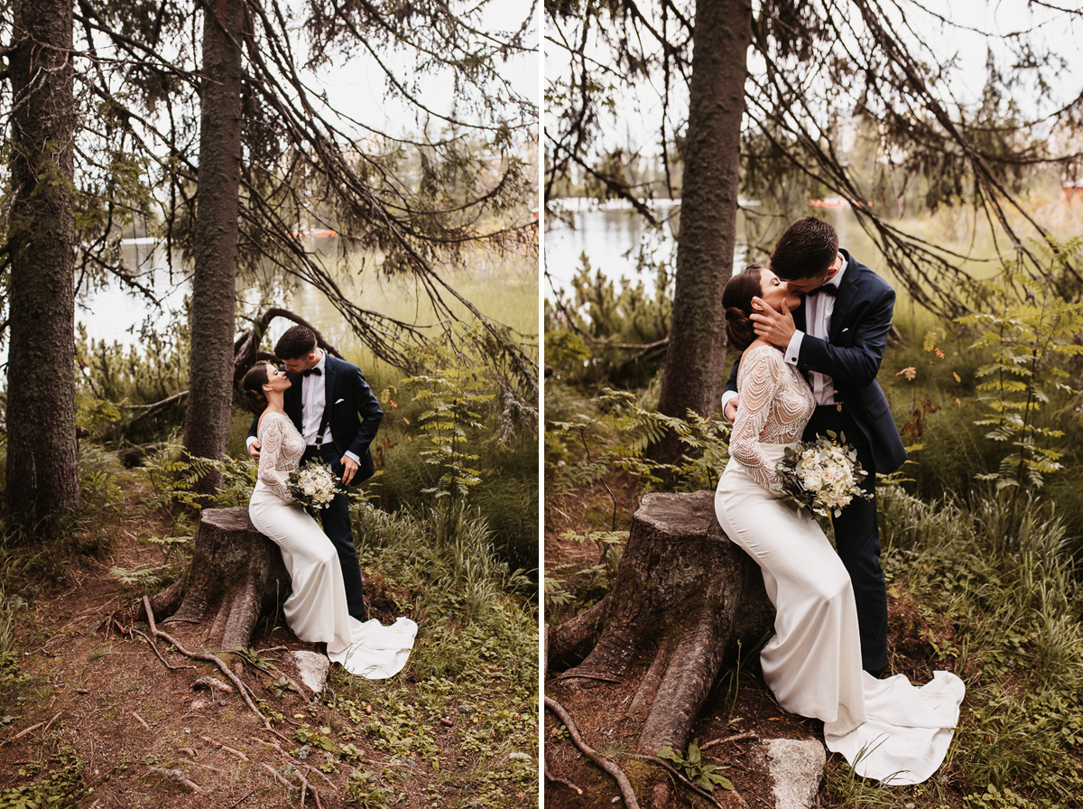 Sylwia i Piotr - ślub w Kościelisku i sesja w górach 180