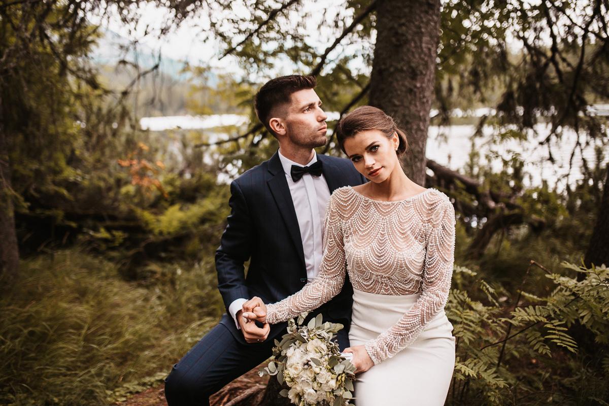 Sylwia i Piotr - ślub w Kościelisku i sesja w górach 182